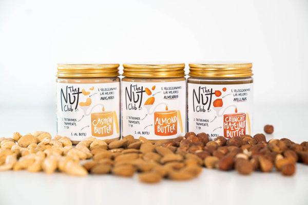 pack de crema de frutos secos   The Nut Club