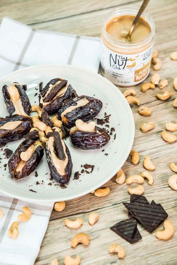 Receta de datiles con crema de anarcardos   The Nut Club