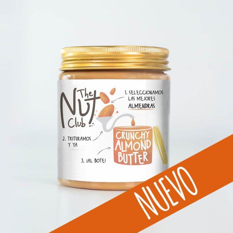 Crema crunchy de almendras | The Nut Club