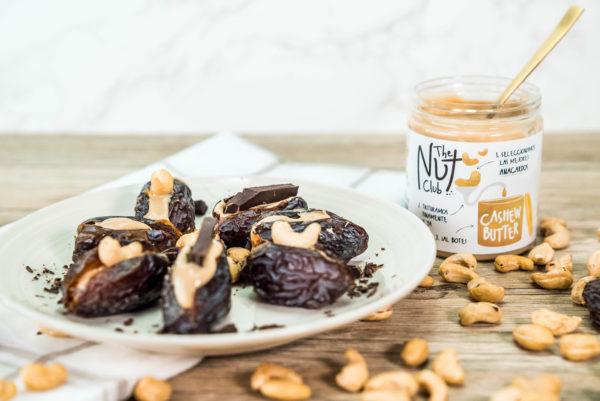 Receta de datiles con crema de anarcardos | The Nut Club